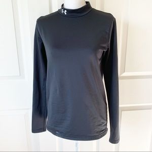 Under Armour Black Long Sleeved YouthXL Cold Gear